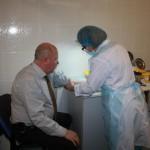 В КДЦ «ГИДУВ» прошел диспансерный осмотр сотрудников КГМА