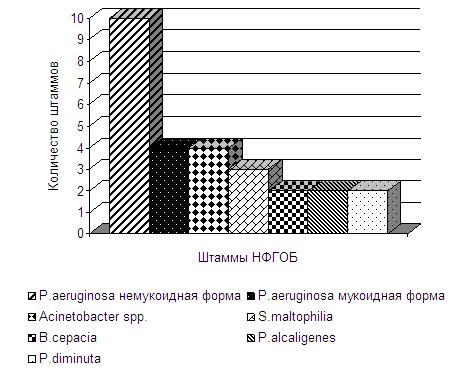 Структура и антибиотикорезистентность микрофлоры, выделенной из нижних дыхательных путей у пациентов с муковисцидозом в г. Самаре