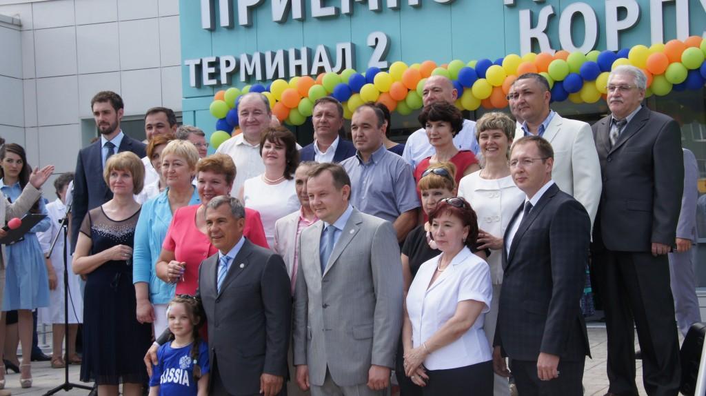 Детскую республиканскую клиническую больницу посетил Президент РТ Р.Н. Минниханов